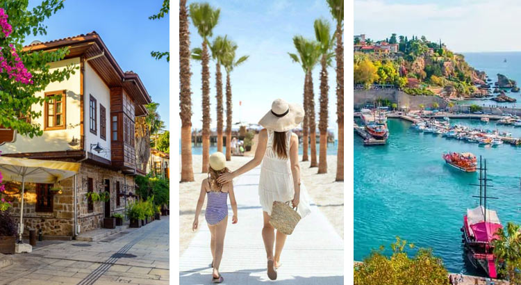 Анталья — город в Турции, куда легко поехать самостоятельно