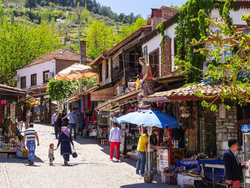 Деревня Шириндже, недалеко от Кушадасы