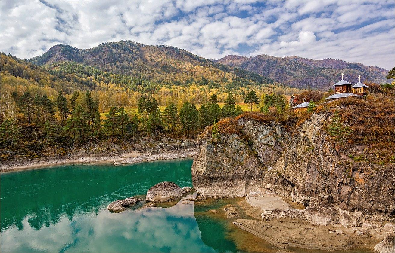 Алтай осенью: остров Патмос