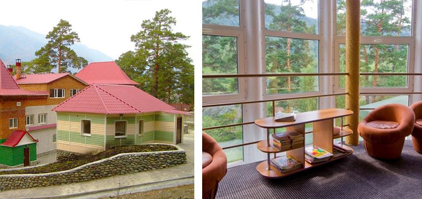 Гостевой дом Евдокимовых в Чемале